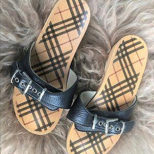 Authentic Burberry Clog/Sandal/Heels